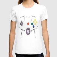 nintendo T-shirts featuring Nintendo 64 by Bradley Bailey