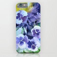 Pansies Crush  iPhone 6 Slim Case