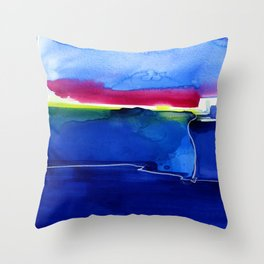 Meditations 33 by Kathy Morton Stanion Throw Pillow