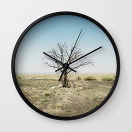 solo tree arizona Wall Clock