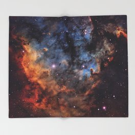 The Devil Nebula Throw Blanket