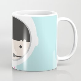 Miss Astronaut 1 Coffee Mug