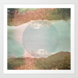 stratosphere Art Print