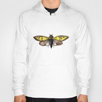 insect Hoodies featuring Insect by Freja Friborg
