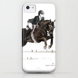 Horse (Jumper II) iPhone Case