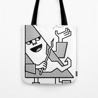 wizard Tote Bags featuring Wizard by JP Coovert