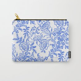 Tea Time Reversed Carry-All Pouch