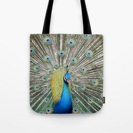 peacock beauty Tote Bag