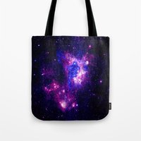 nebula Tote Bags featuring nebulA. by 2sweet4words Designs