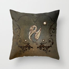 Awesome chinese dragon Throw Pillow