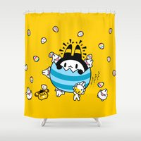 easter Shower Curtains featuring easter easter easter.... by Ziqi