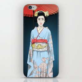 Kyoto Geisha  iPhone Skin