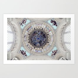 Spanish Ceiling Art Print