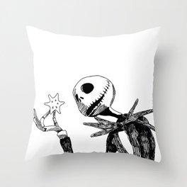 Jack for Christmas Throw Pillow