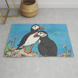 Puffin Perfection Rug