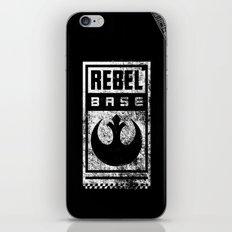 Rebel Base iPhone & iPod Skin