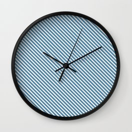 Niagara Stripe Wall Clock