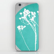 Abstract Flowers 1 iPhone Skin