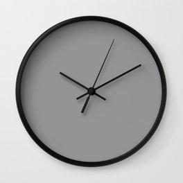 Art Above ~ Medium Grey Coordinating Solid Wall Clock