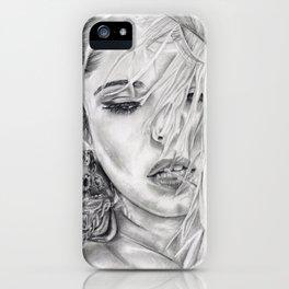 Feather Girl Aloud iPhone Case