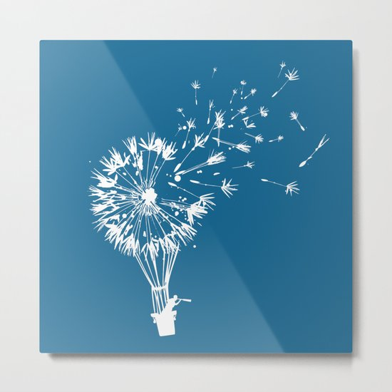 Going where the wind blows Metal Print