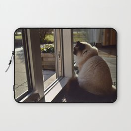 Thoughts of a Cat Laptop Sleeve