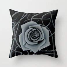 Beauty is Pain Throw Pillow