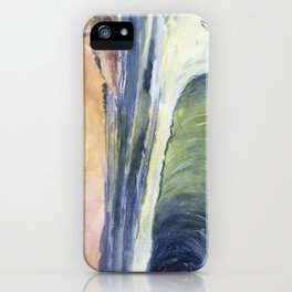 High Tide At Sunset iPhone Case