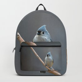 Tufted Titmouse 9639 Backpack