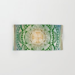 Metta Mandala, Loving Kindness Meditation Hand & Bath Towel