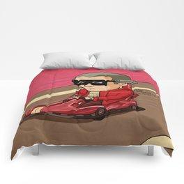 Mozart in a Go-Kart Comforters