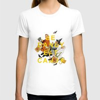 eat T-shirts featuring Be Dandy Eat Candy by Heather Landis
