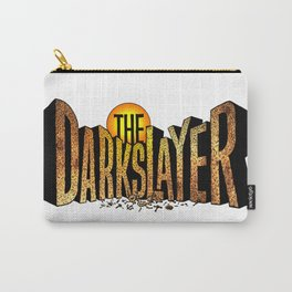 The Darkslayer (Logo & Lettering) Carry-All Pouch
