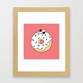 Goofy Foods - Goofy Donut Framed Art Print