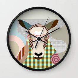 The Shepherd Sheep Wall Clock