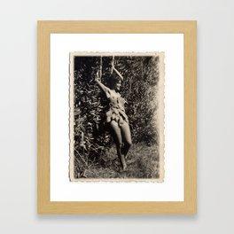 Garden Fairy Framed Art Print