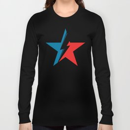 Bowie Star black Long Sleeve T-shirt