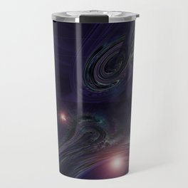 Purple Psychedelic Succulent v.2 Travel Mug