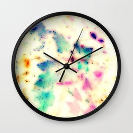 Colorful leaves Wall Clock