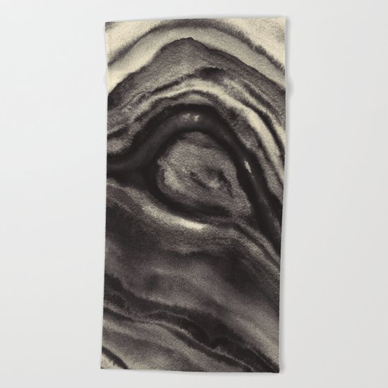 Abstract bwv 01 Beach Towel