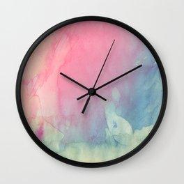 Rose and Serenity Wall Clock
