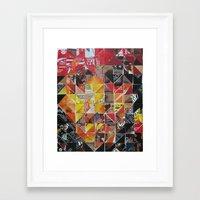 jack sparrow Framed Art Prints featuring Jack Sparrow by Ruud van Koningsbrugge