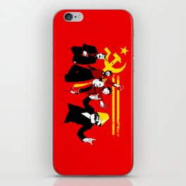 The Communist Party (original) iPhone Skin
