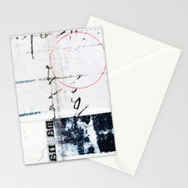 Circles and Quadrants Stationery Cards