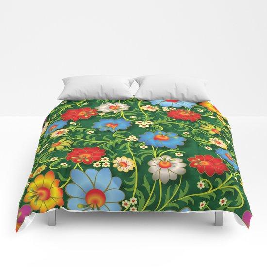 Shabby flowers #16 Comforters