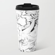 Comic Metal Travel Mug