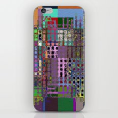 Pastel Playtime - Abstract, geometric, textured, pastel themed artwork iPhone & iPod Skin