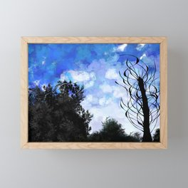 Living woods Framed Mini Art Print