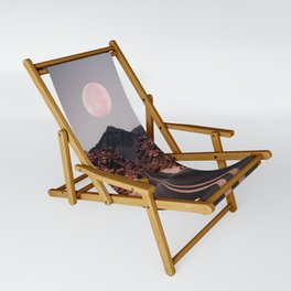 Road Red Moon Sling Chair