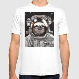 Astronaut Sloth Selfie T-shirt